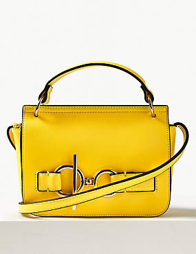 Yellow Cross Body Handbags