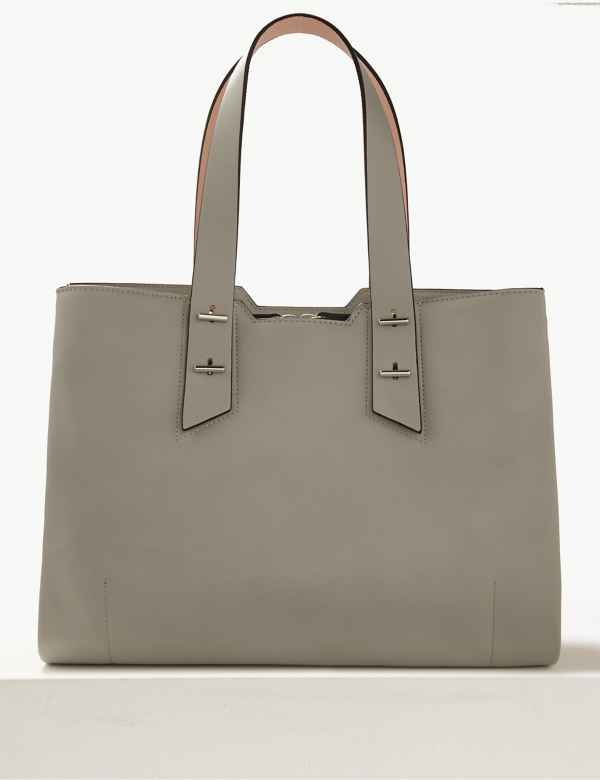 Faux Leather Tote Bag c666dddbf58ef