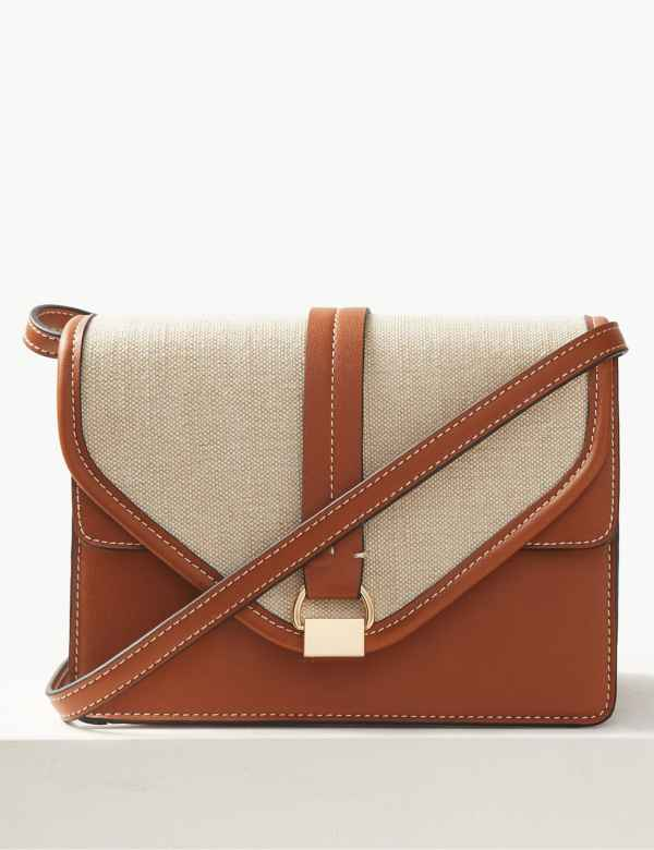Contrast Cross Body Bag 52f8286501ed0