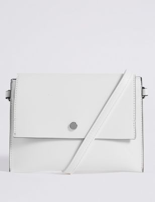 Faux Leather Belt Cross Body Bag by Marks & Spencer