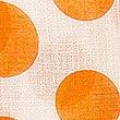 Pure CottonPolka Dot Scarf, ORANGE MIX, swatch