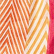 Chevron Stripe Scarf, ORANGE MIX, swatch