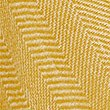 Striped Fringe Detail Wrap, OCHRE, swatch