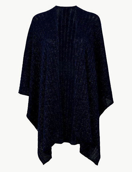 Sparkle Knitted Wrap