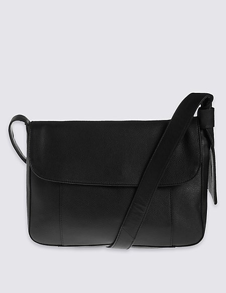 Leather Soft Messenger Bag