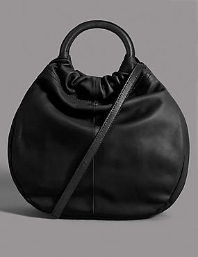 Leather Ring Tote Bag
