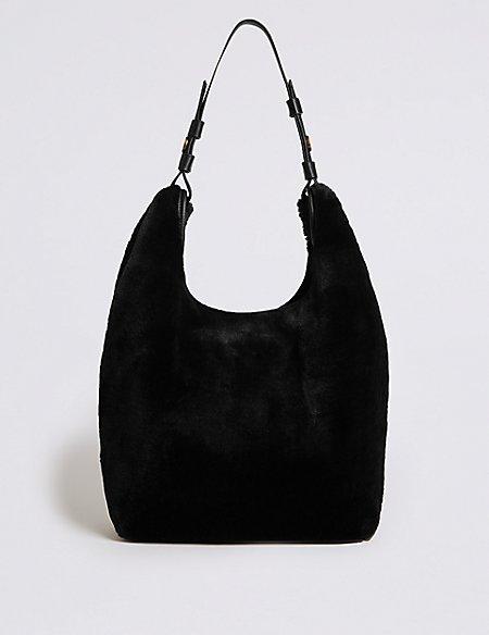 c961076afff4 Faux Fur Shoulder Bag