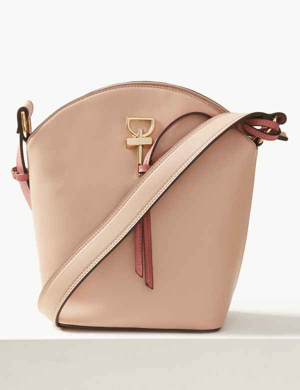 Faux Leather Cross Body Bag 1889d8400c6