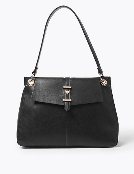 Soft Stud Shoulder Bag