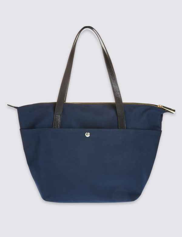 8369c635359 Popper Pocket Tote Bag