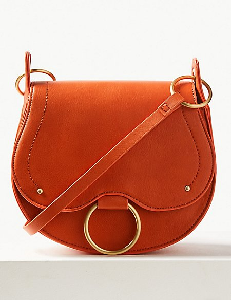 Saddle Cross Body Bag