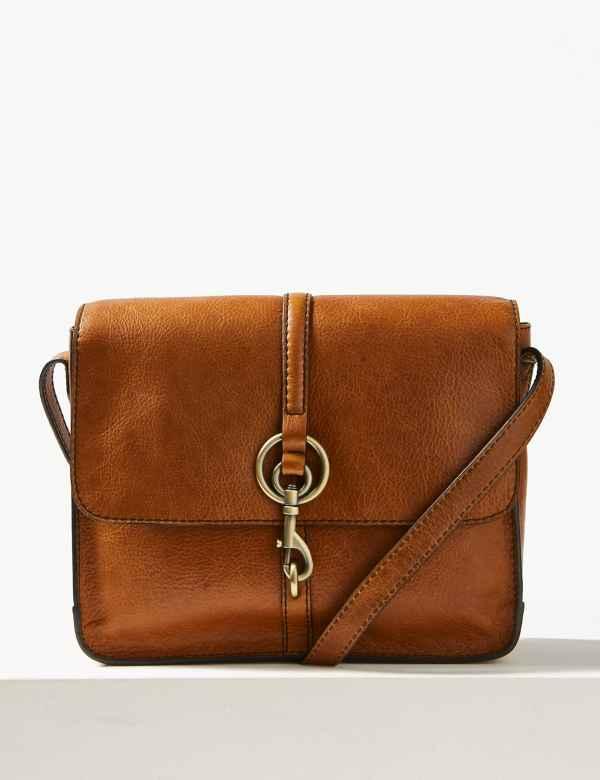 56bc82c7d45023 Leather Messenger Bag