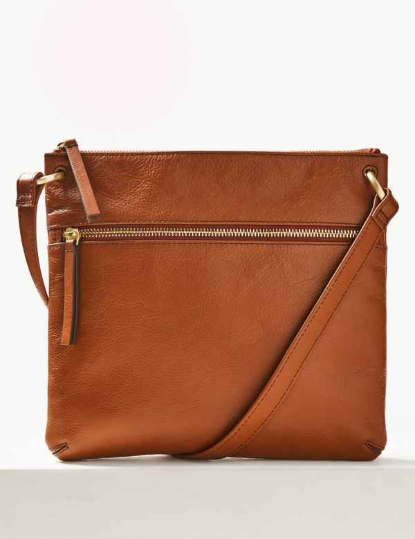 56f5ca13717bc1 Leather Cross Body Bag
