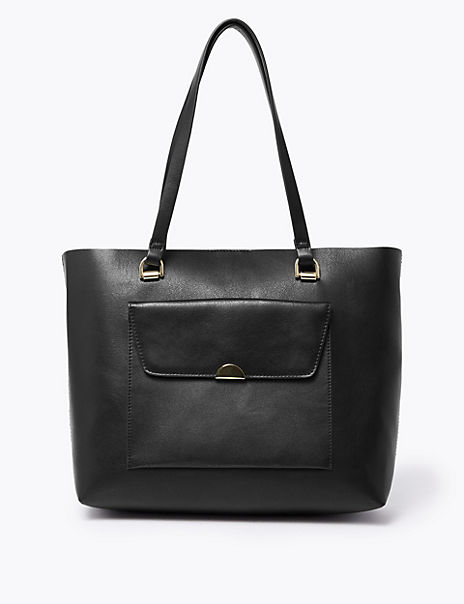 Soft Stud Shopper Bag