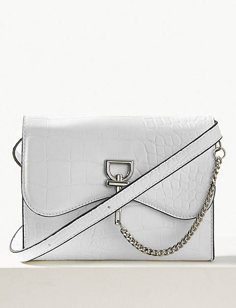 Chain Detail Cross Body Bag