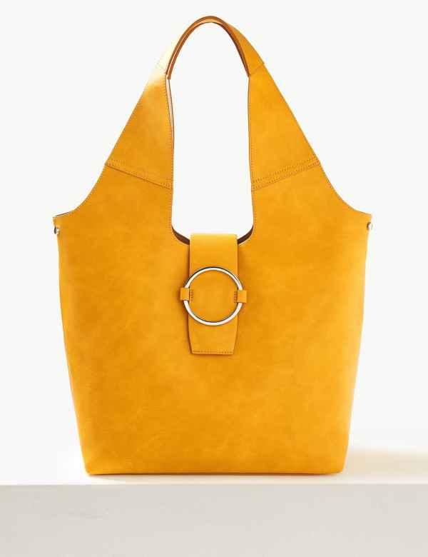 f1d4e444eb Ring Detail Hobo Bag