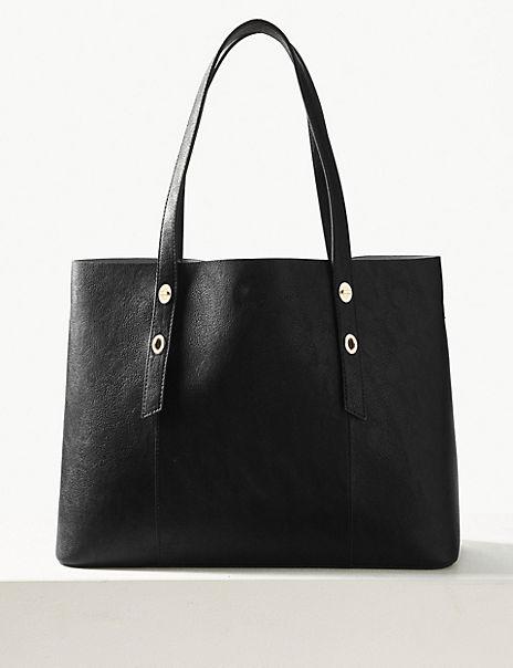 Ring Detail Tote Bag