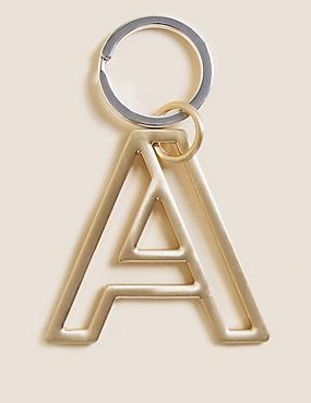 Porte-clés à motif alphabétique