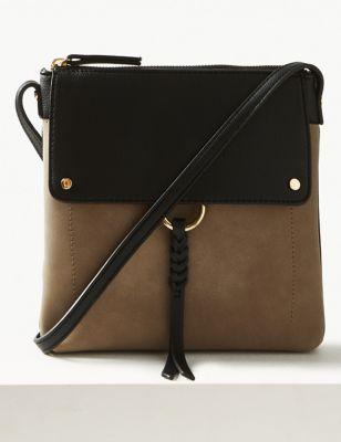 ef4207ef8e7 Zipped Detail Messenger Bag £19.50