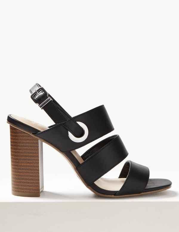 d81bdbe870ee Womens Block Heel Shoes   Boots