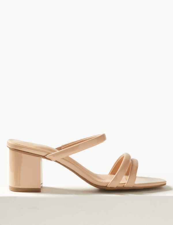 3ea824668049 Multi Strap Mule Sandals
