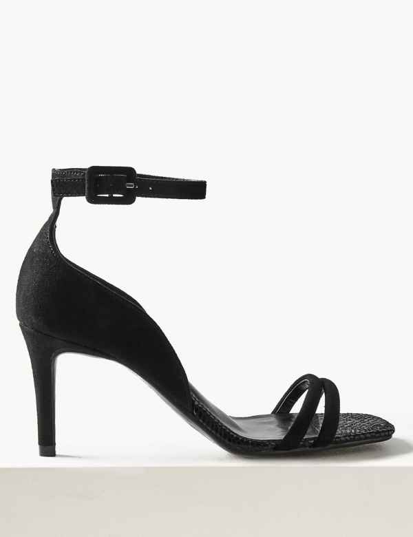 559979ded004 Double Strap Stiletto Sandals