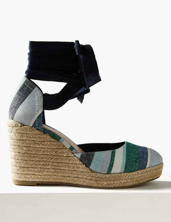 feeb76b53 Wedge Heel Espadrille Sandals