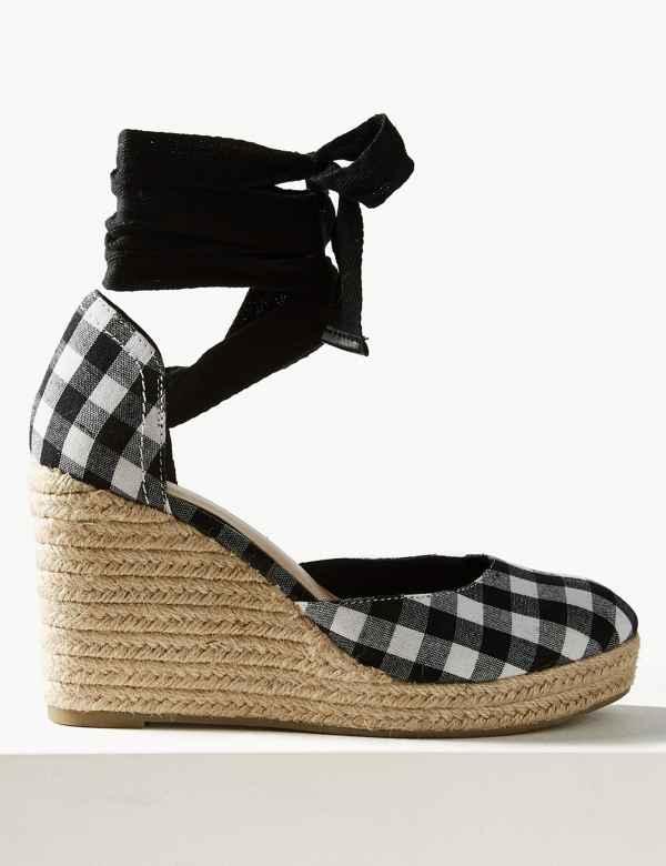 9ba40ac93 Wedge Heel Espadrille Sandals