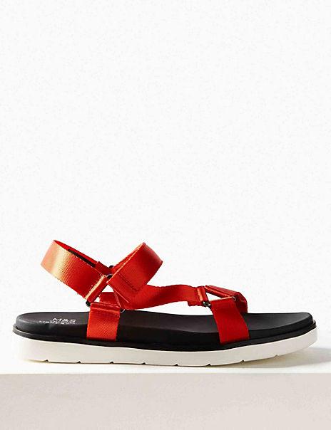 Flatform Strappy Sandals