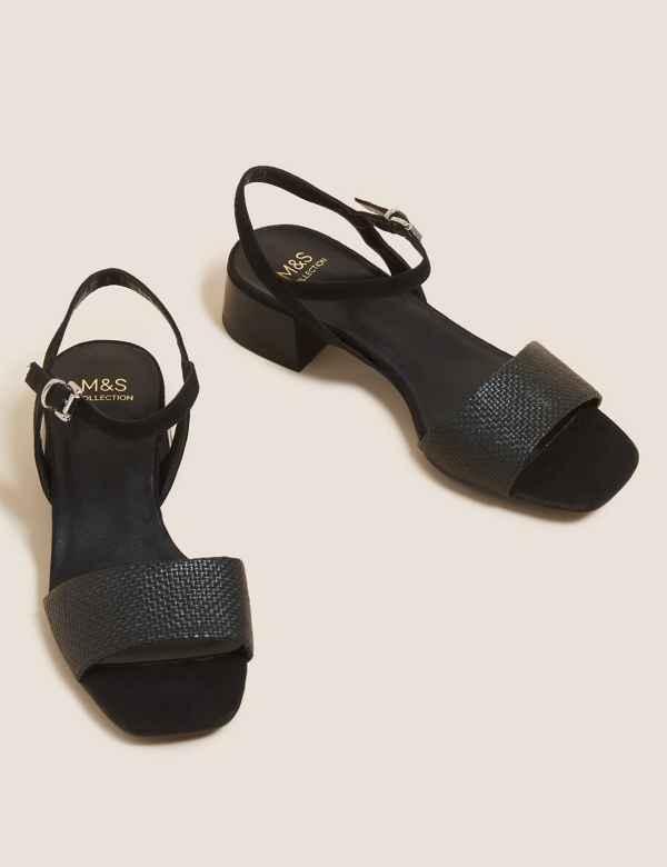 c000443164 Open Toe Ankle Strap Sandals