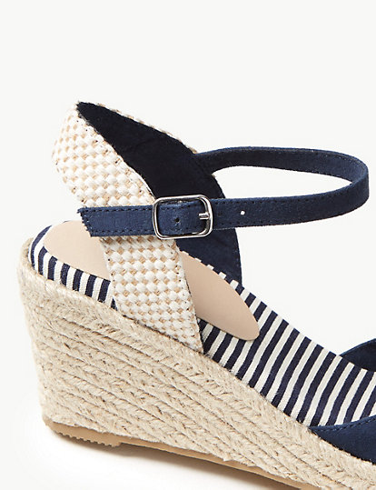 e7dab3deeb5 Wedge Heel Almond Toe Espadrilles | All Shoes | Marks and Spencer DE