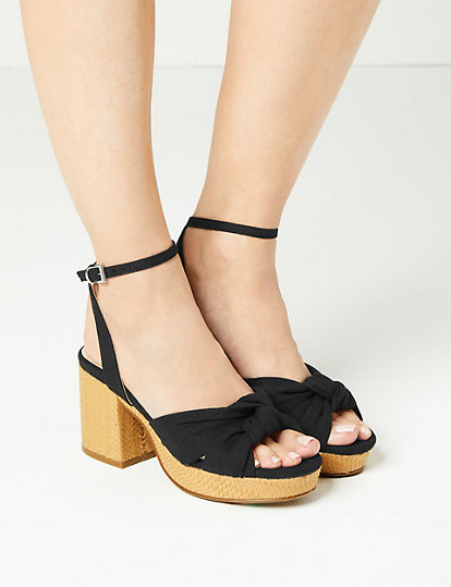 ced61dc66 Demi Ankle Strap Sandals   All Sandals   Marks and Spencer US