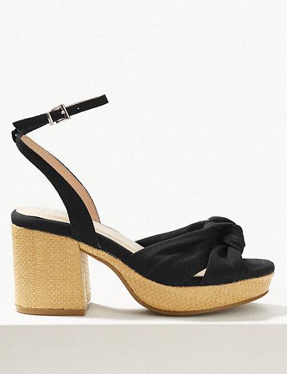 bb4425136 Demi Ankle Strap Sandals   All Sandals   Marks and Spencer ES