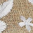 Sandales style mules à brides croisées et motif brodé, BEIGE PEAU, swatch