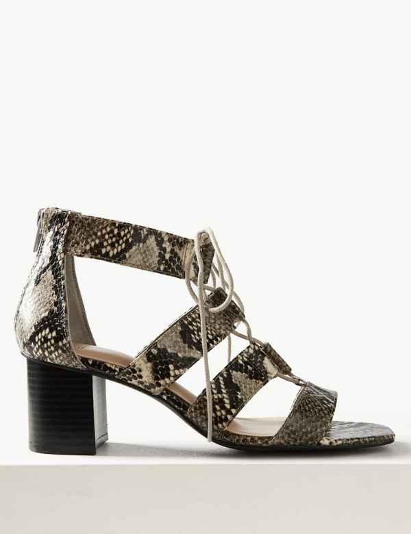 87f61a6c9565 Ladies Heeled Sandals