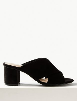 08f0c085f1fb Crossover Mule Sandals £25.00