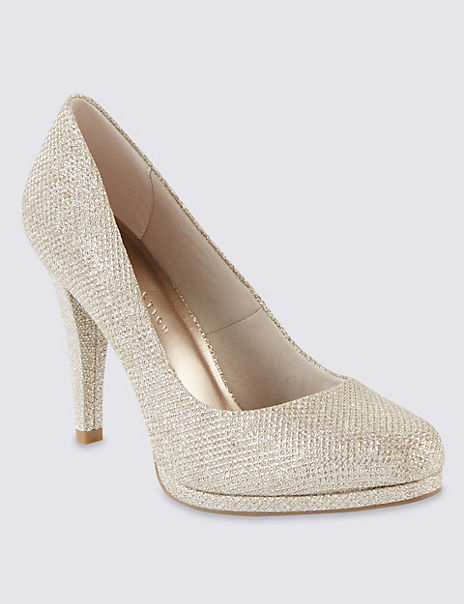 Platform Court Shoes with Insolia®