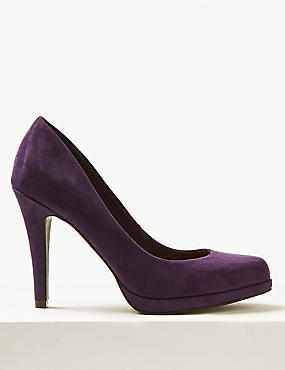 Stiletto Platform Court Shoes