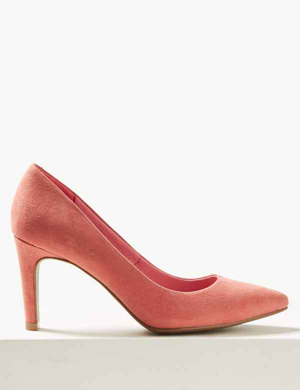1c1560b6bc22 Stiletto Pointed Court Shoes