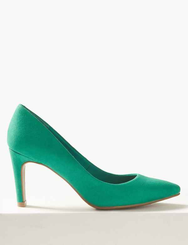 439594f99ba7 Stiletto Heel Pointed Court Shoes