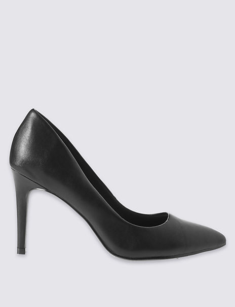 Stiletto Pointed Court Shoes with Insolia®