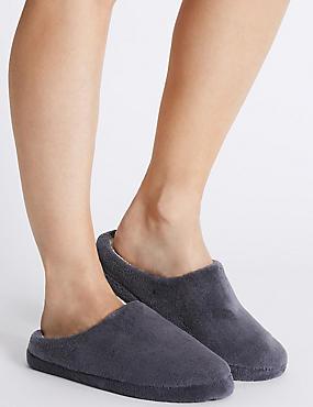 Micro Towelling Mule Slippers