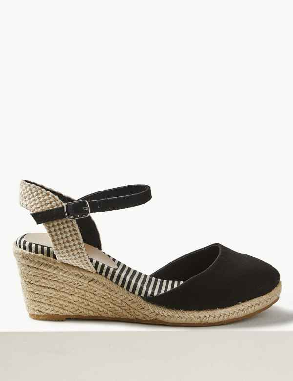 c00e949ff09 Wide Fit Wedge Heel Espadrilles