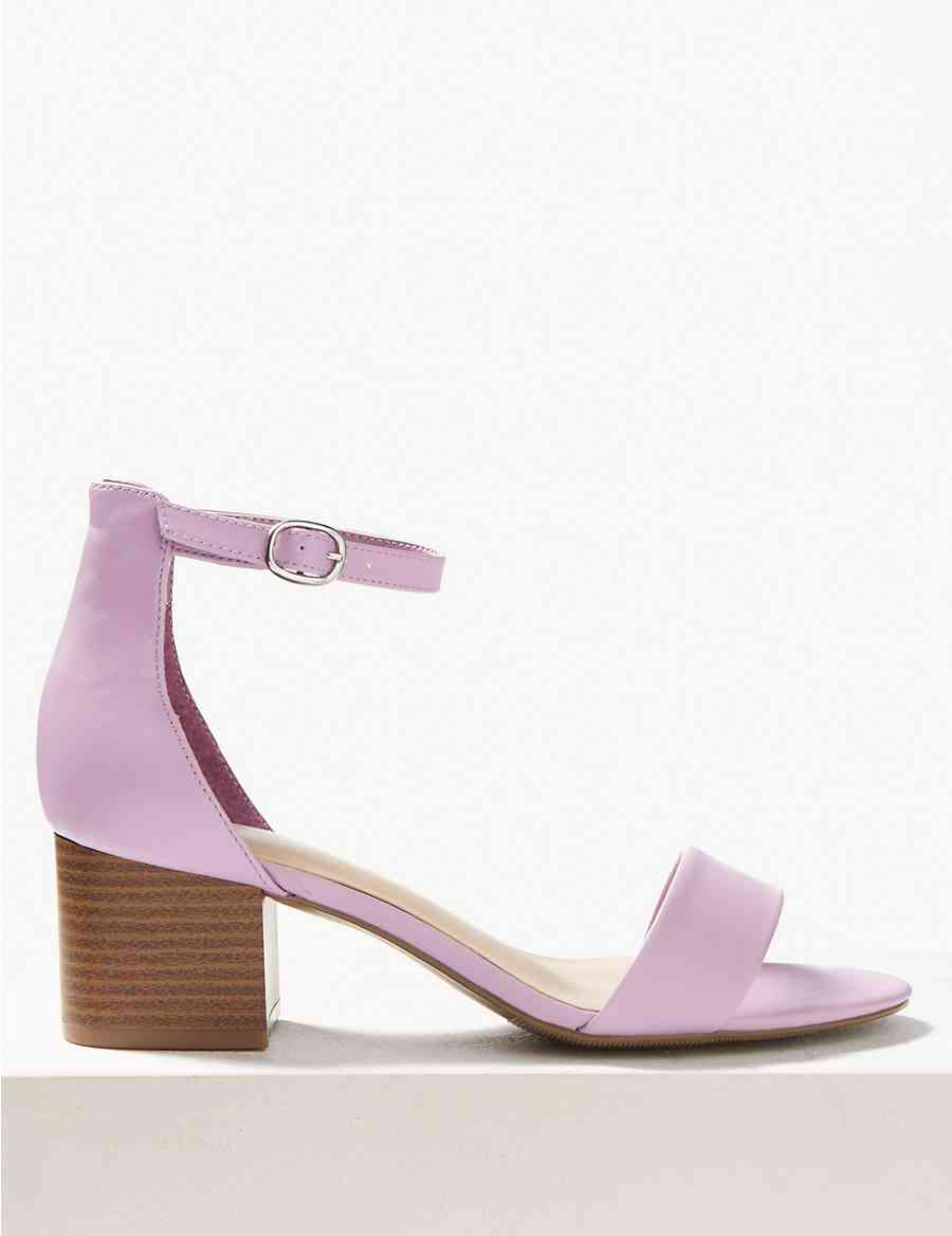 88bcc66c7614 Wide Fit Two Part Ankle Strap Sandals