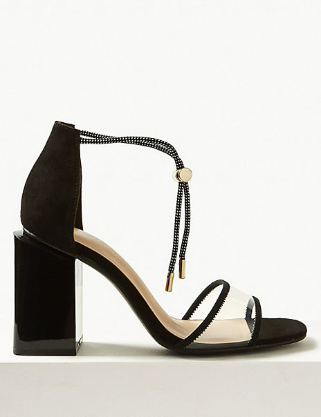 The Danielle Toggle Ankle Strap Sandals