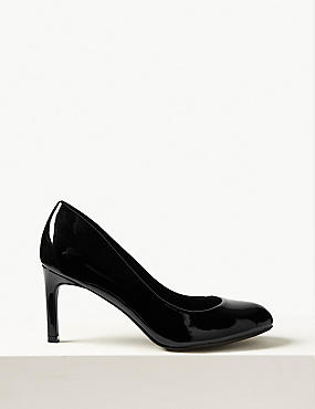 Wide Fit Almond Toe Court Shoes