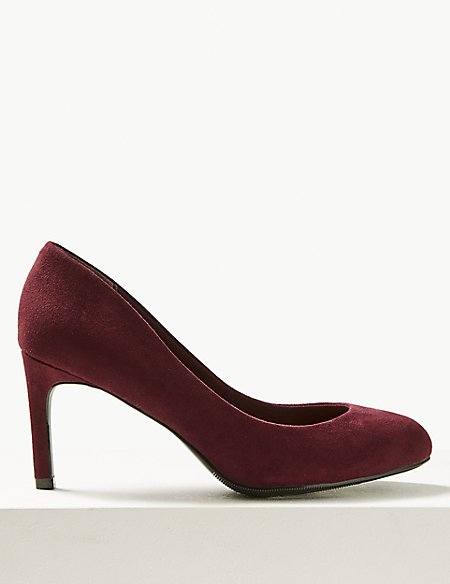 Wide Fit Stiletto Heel Court Shoes