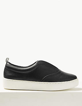 Extra Wide Fit Slip-on Trainers