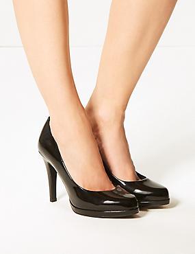tacón especial aguja ancho de salón con de de Zapatos RWHtn4O4