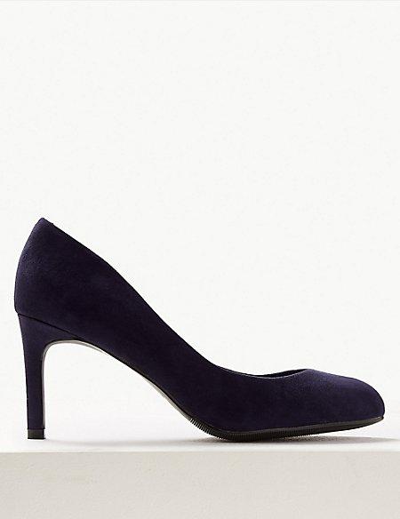 Wide Fit Stiletto Heel Court Shoes